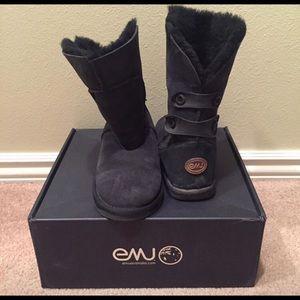 Emu Alba Boots Black Size 9